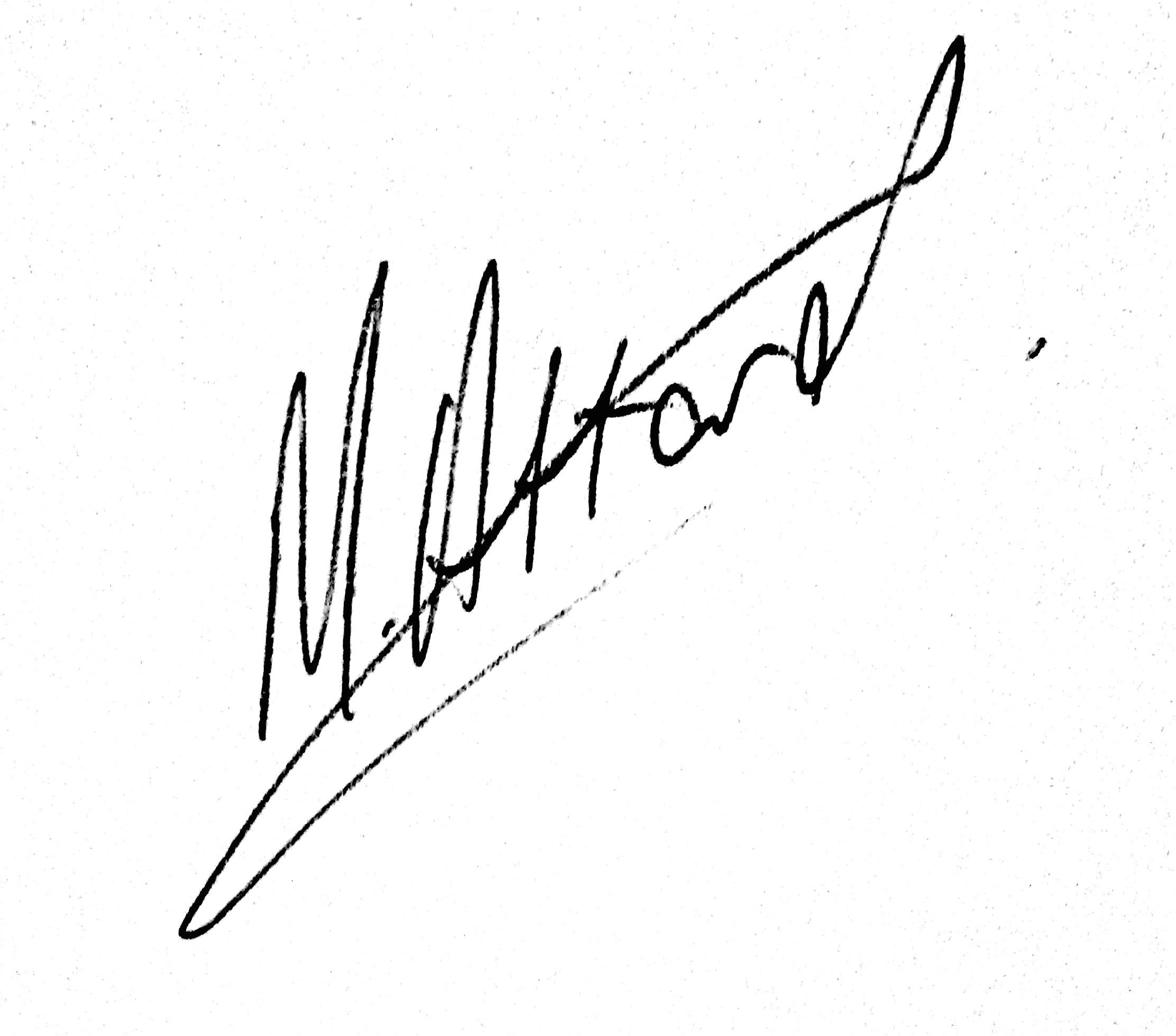 Matthew Attard's Signature