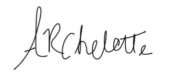 Arlene Chelette's Signature