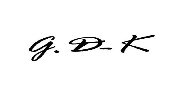 Gloria Dietz-Kiebron's Signature