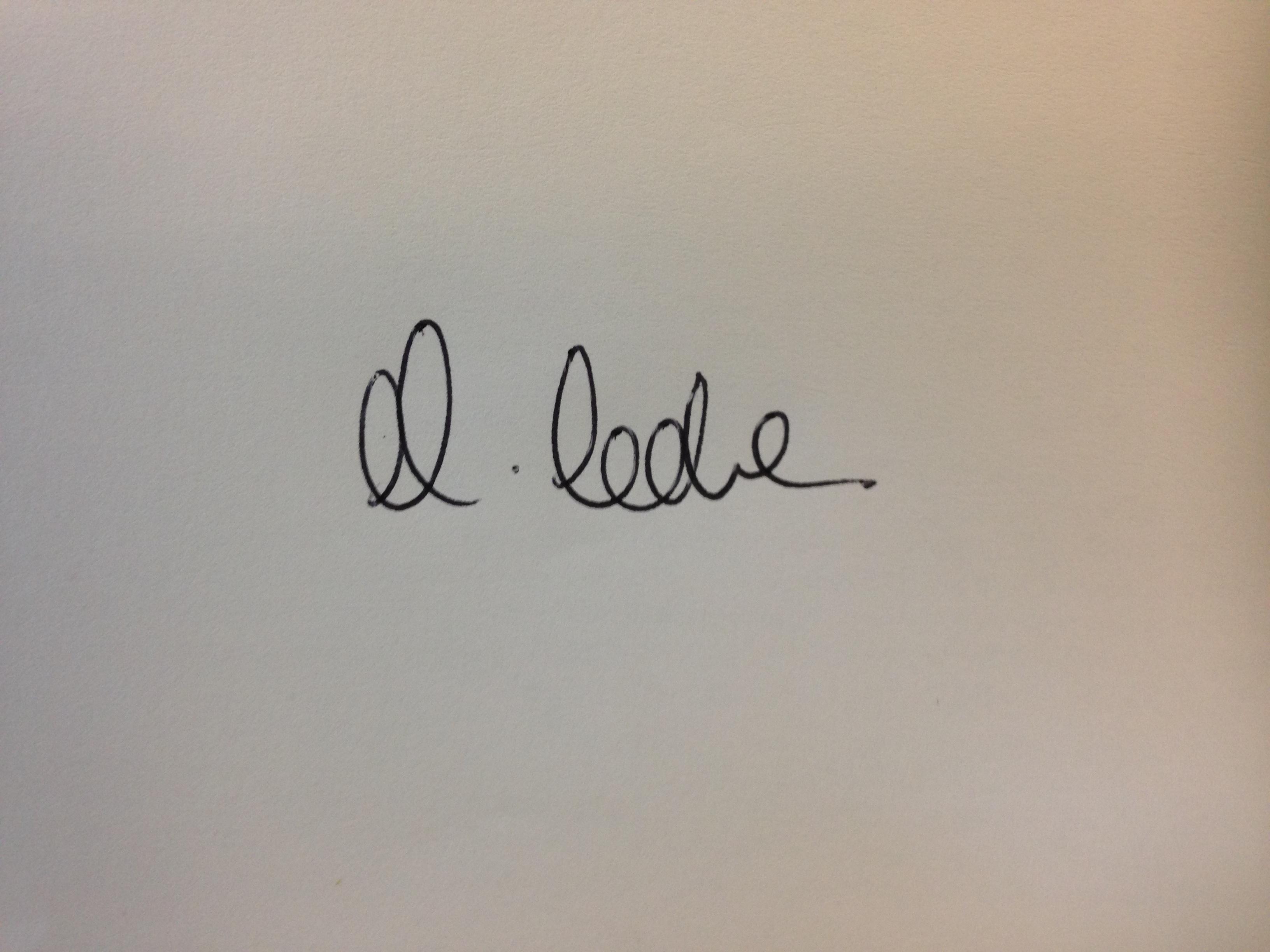 Martin Varennes-Cooke's Signature