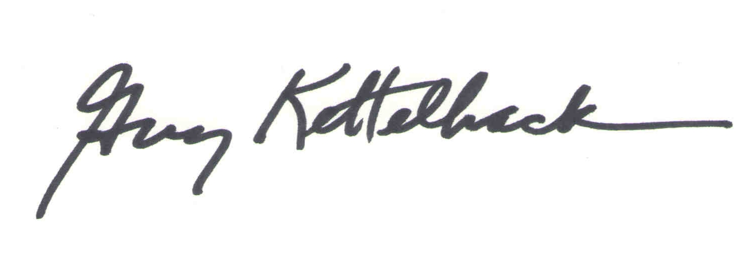 Guy Kettelhack's Signature