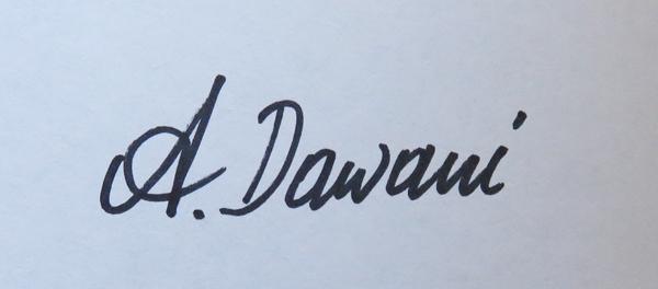 Ana  Dawani's Signature
