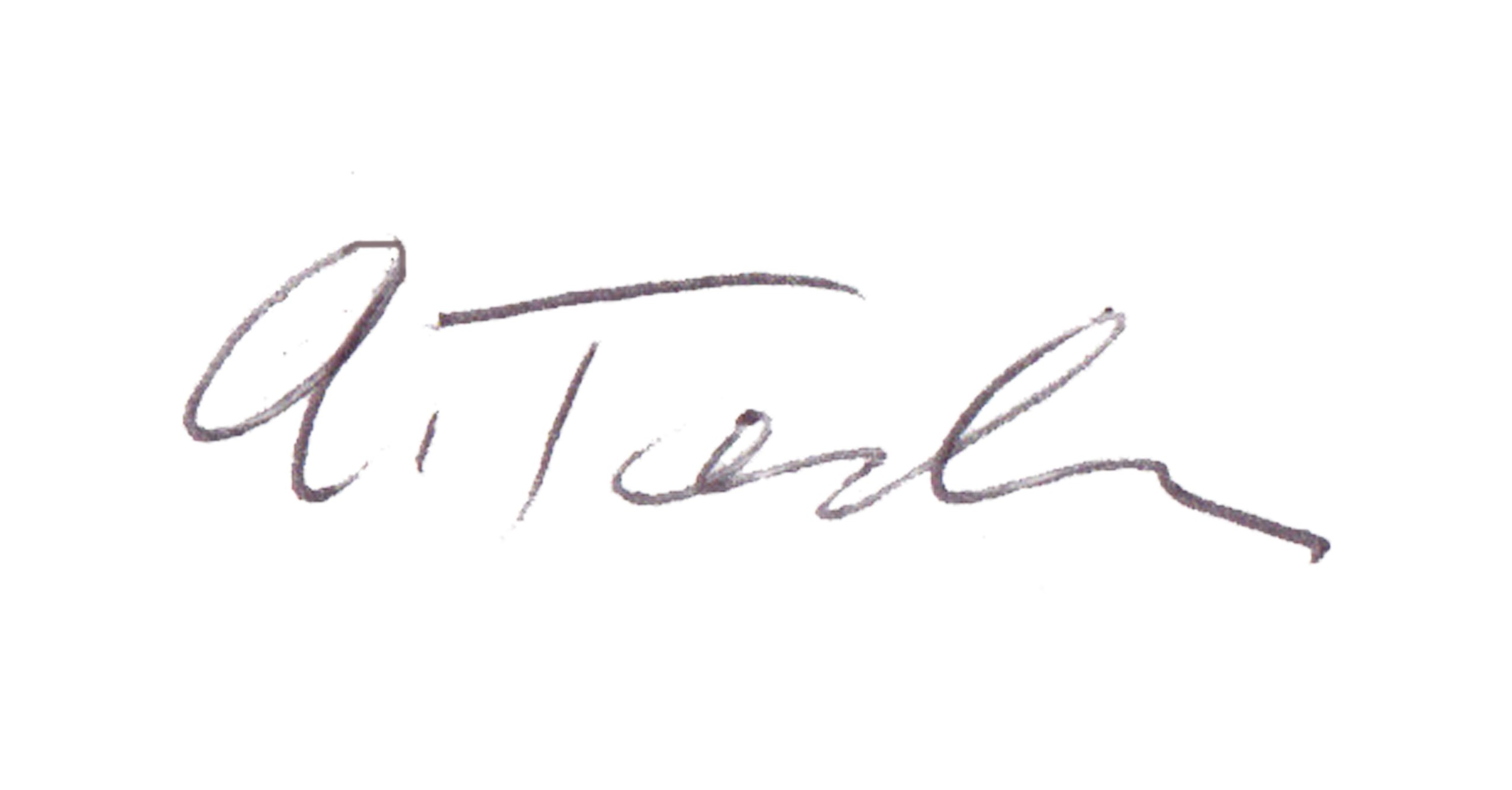 Ann Tendler's Signature