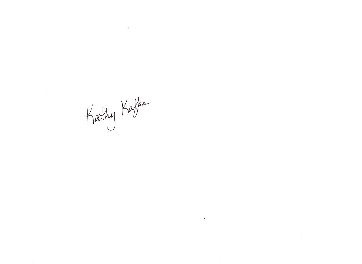 Kathy Kafka's Signature