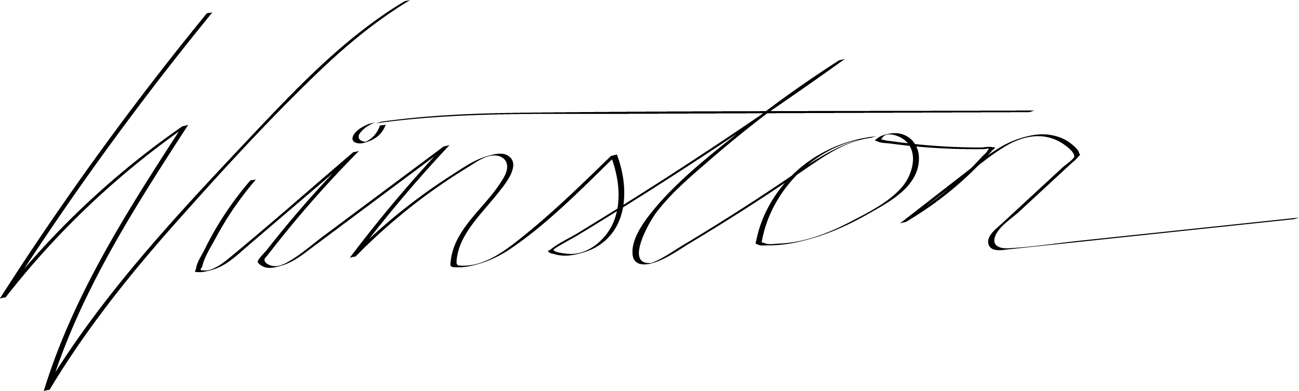 Winston Brinkerhoff's Signature