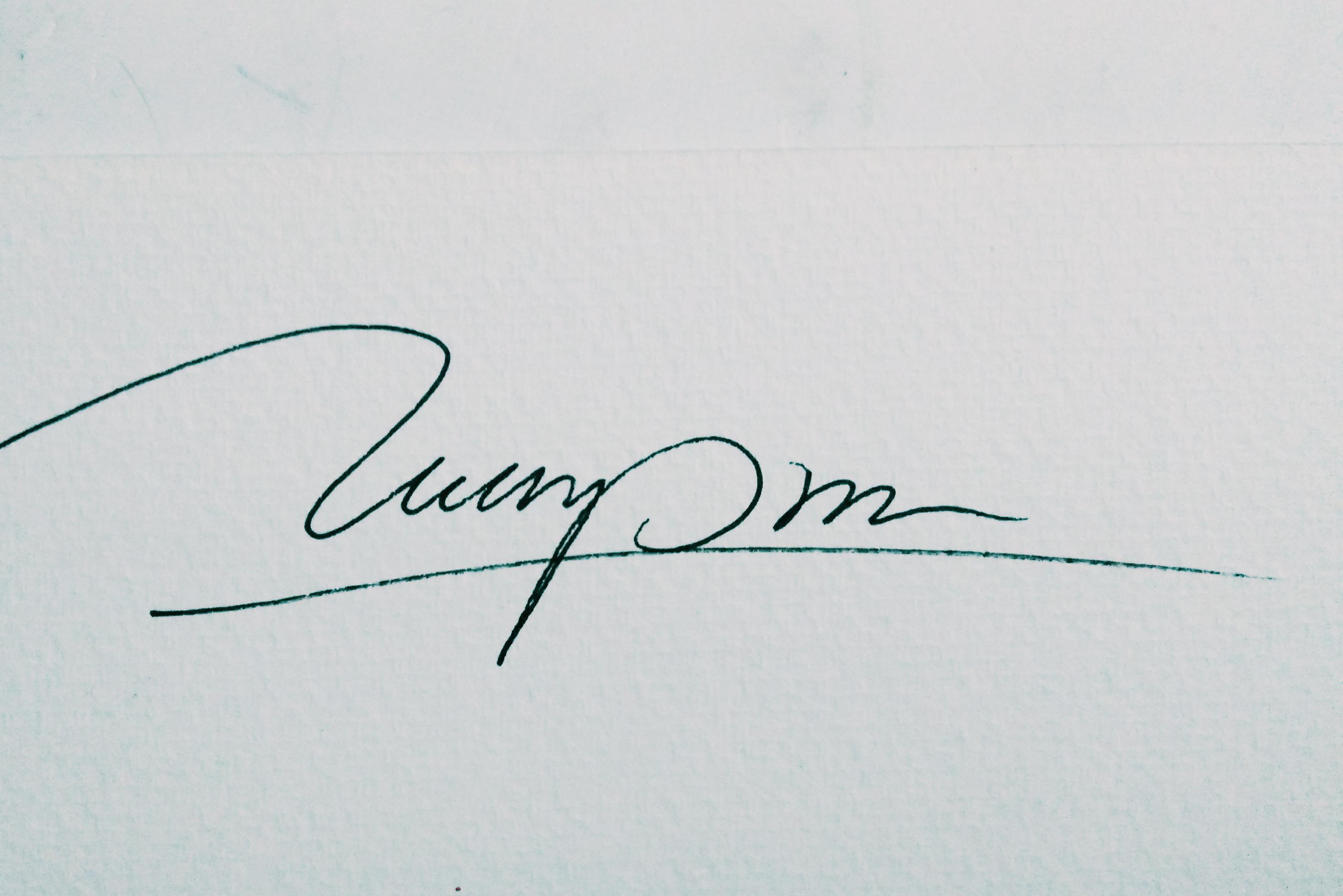 Tuan Pham's Signature