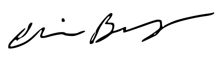 Christine Bingham's Signature