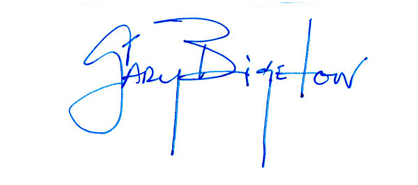 Gary Bigelow's Signature