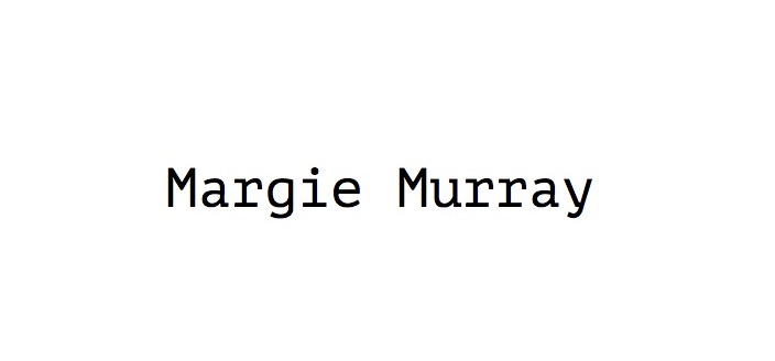 Margie Murray's Signature