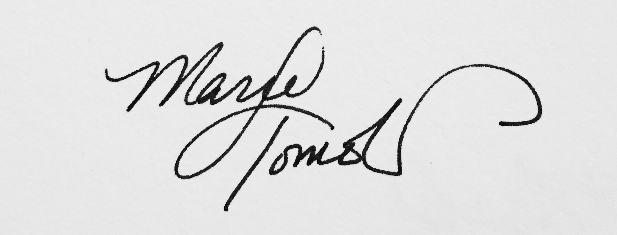 Marie Tomeoki's Signature