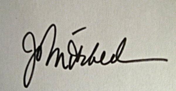 Jo Mitchell's Signature