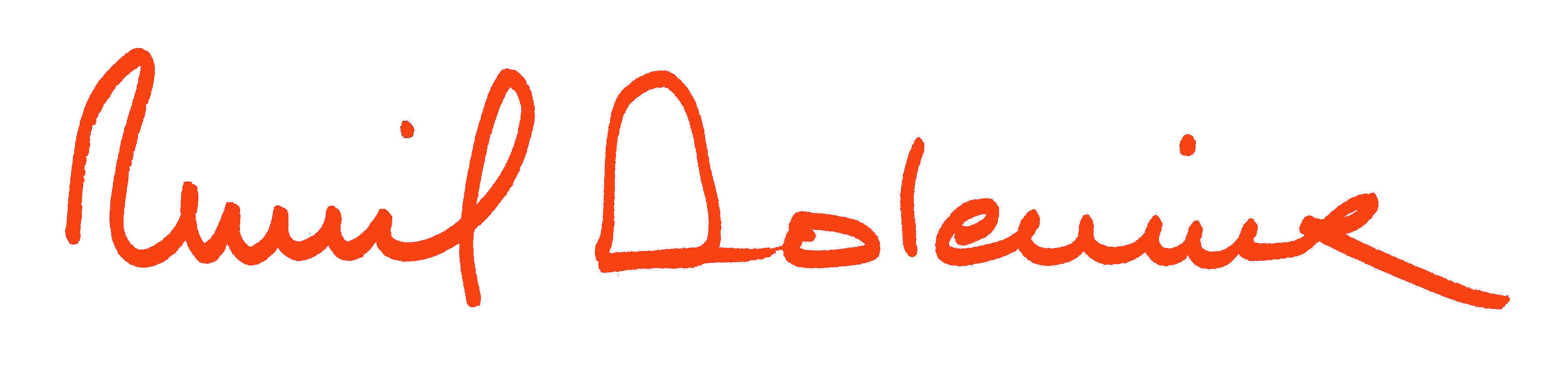 Muriel Dolemieux's Signature