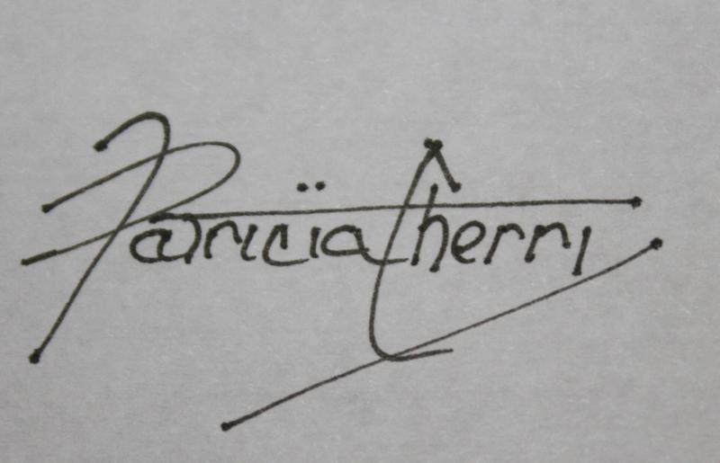 Patricia Cherry's Signature