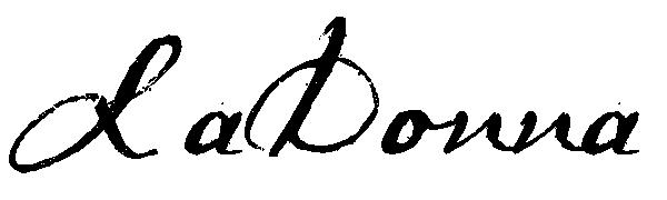LaDonna McGee's Signature