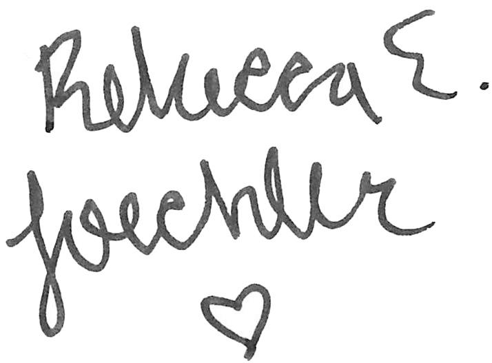 Rebecca Loechler's Signature