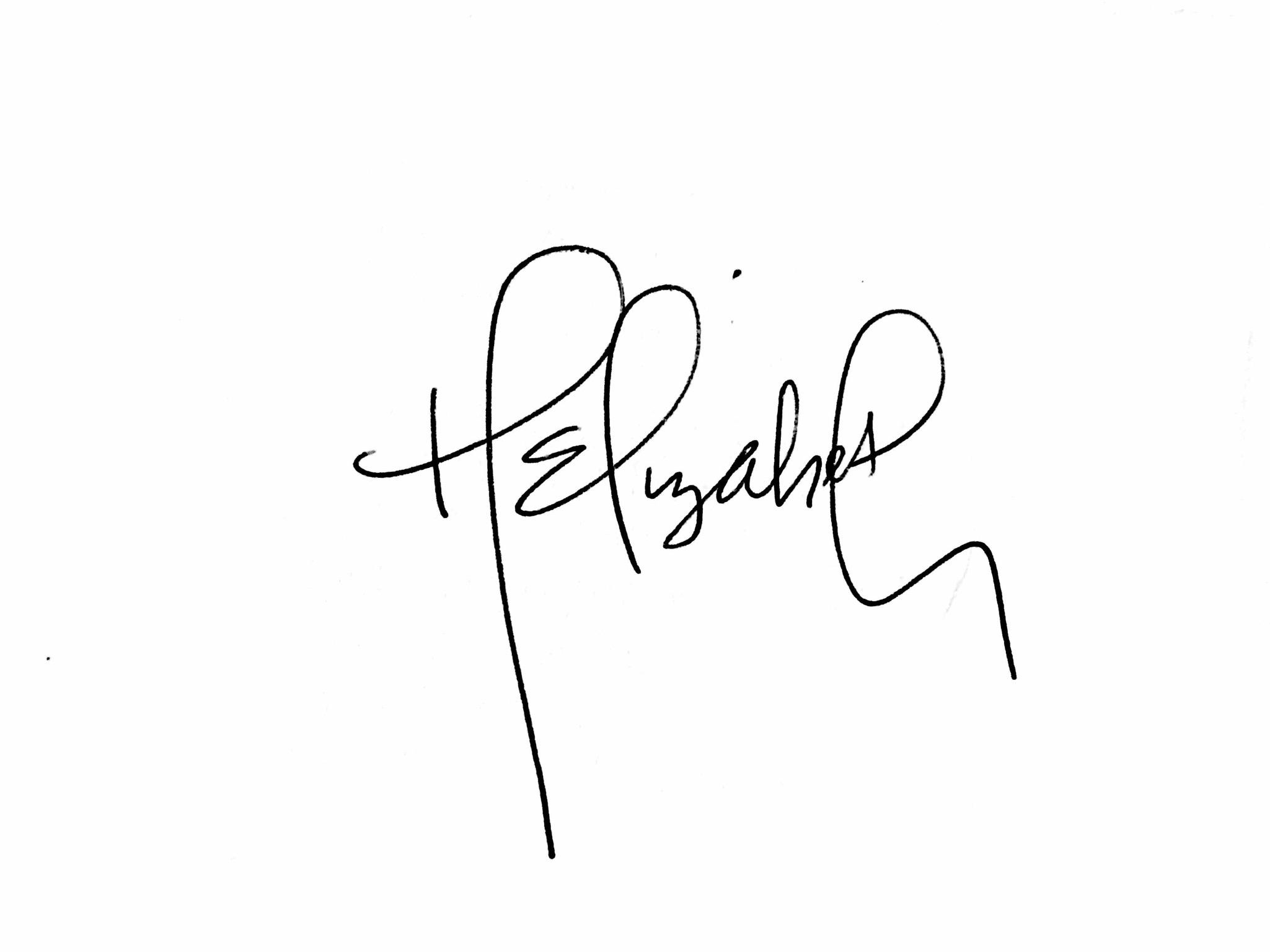 Hannah Seaman's Signature