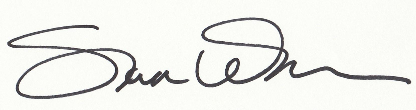 Sondra Wampler's Signature