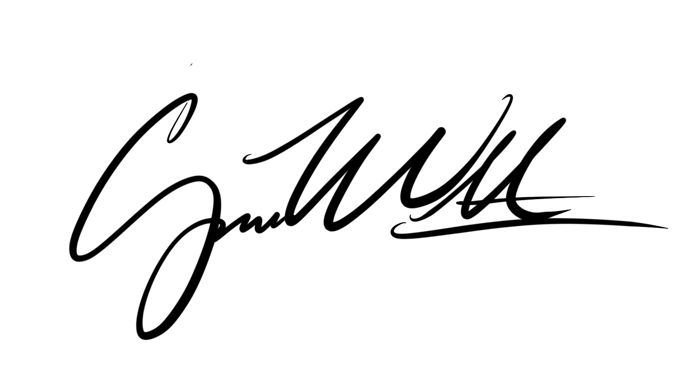 Canyon Webb's Signature