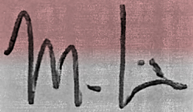 Mark Davis's Signature