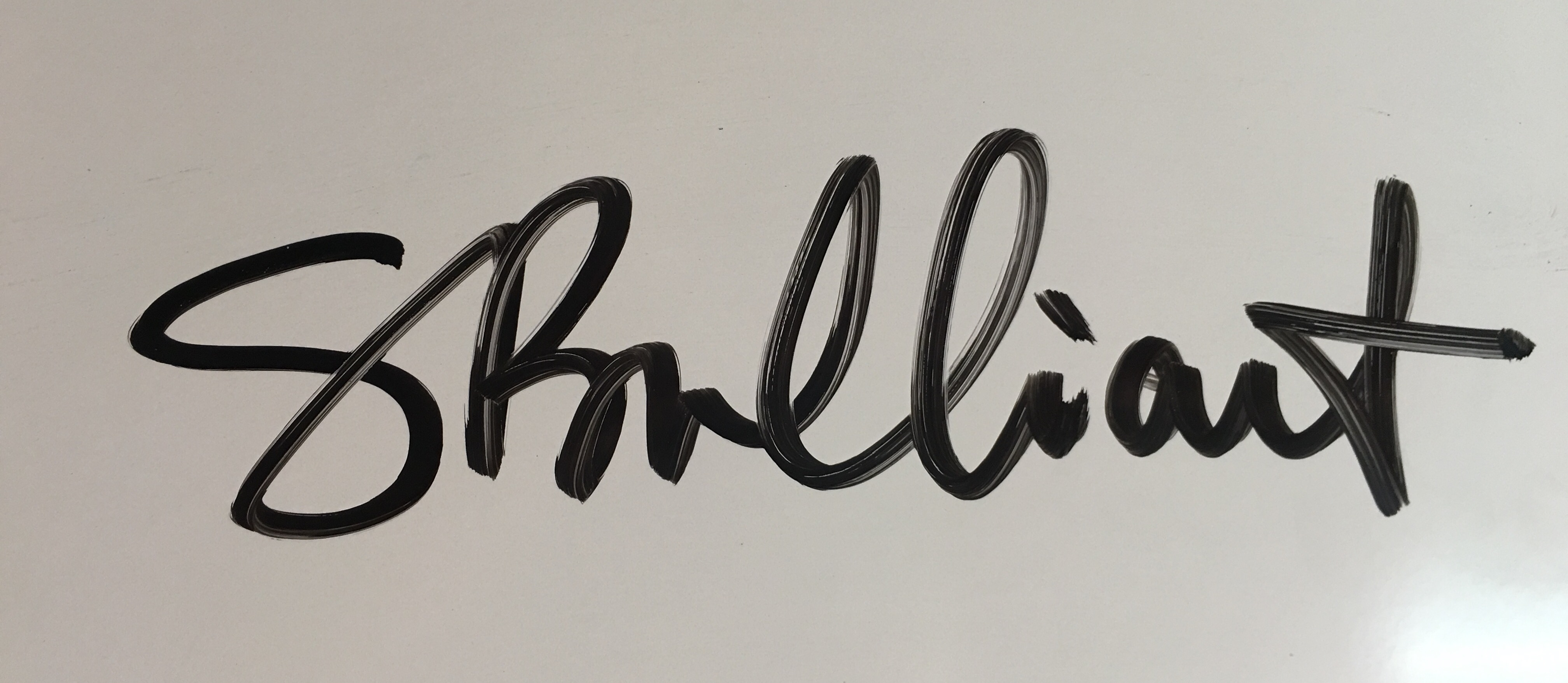Sherry Brilliant's Signature