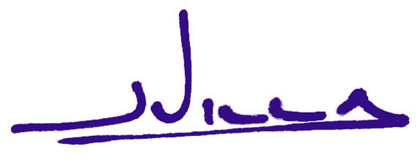 Joe Villa's Signature