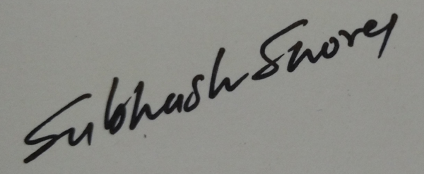 subhash shorey's Signature