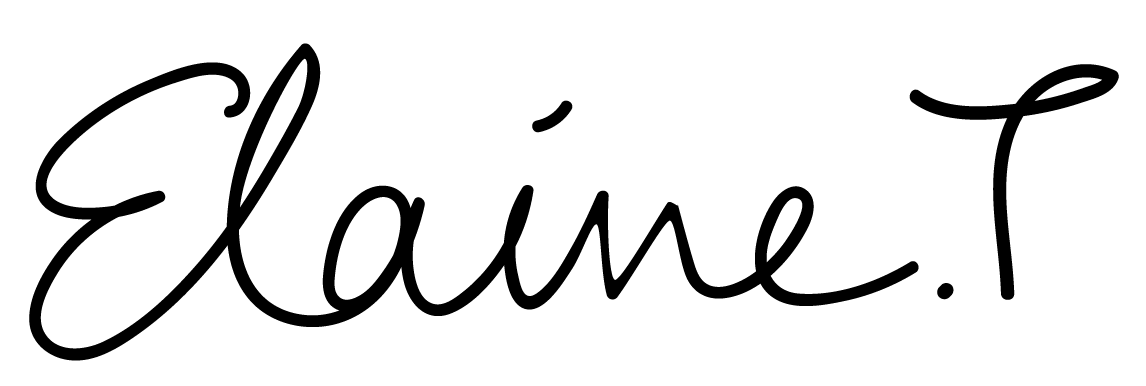 Elaine Tan's Signature