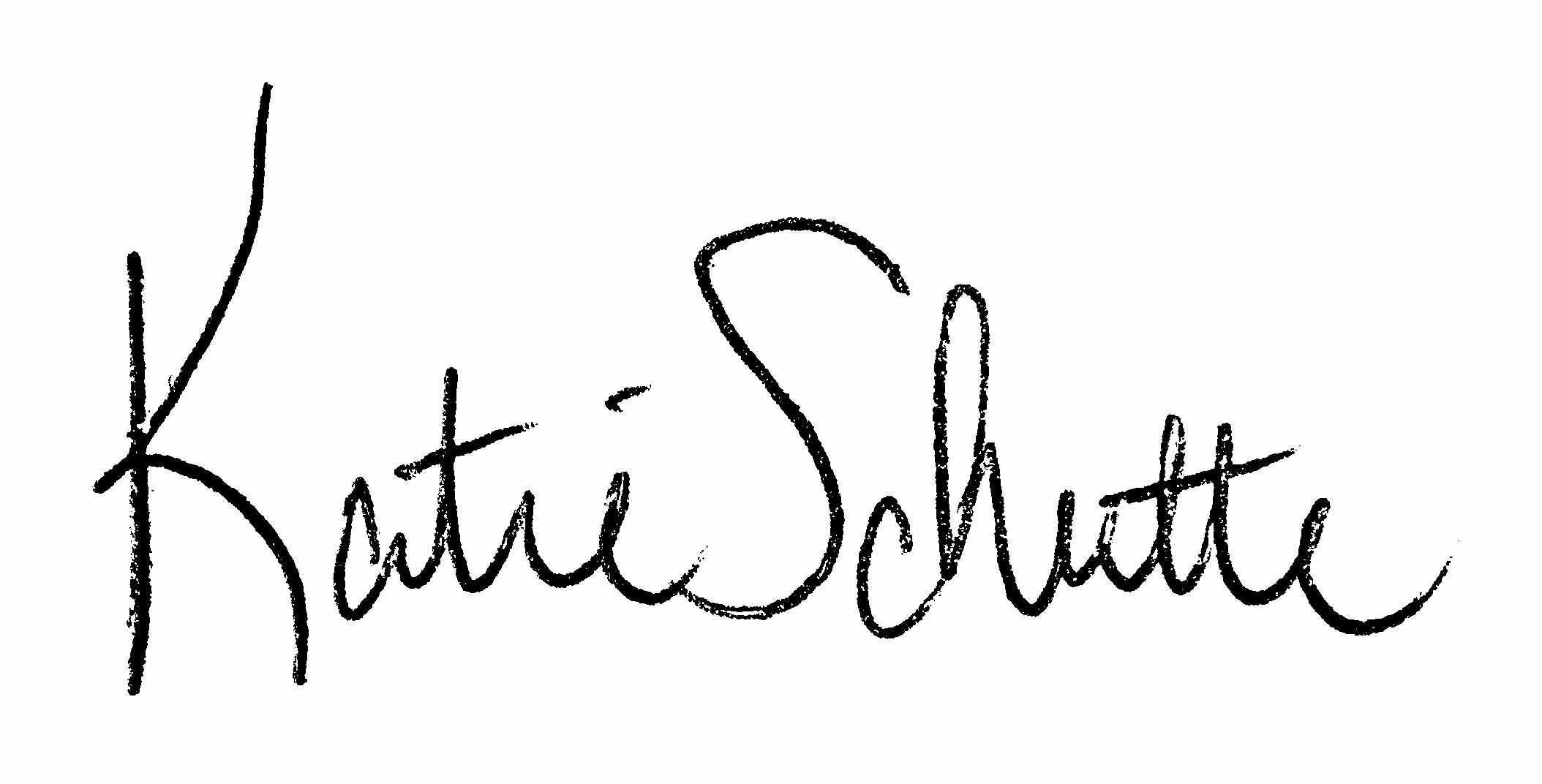 Katie Schutte's Signature