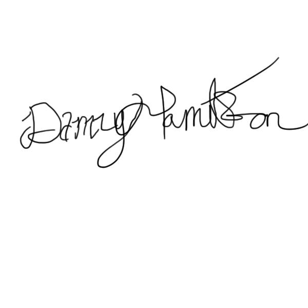 Danny Hamilton's Signature