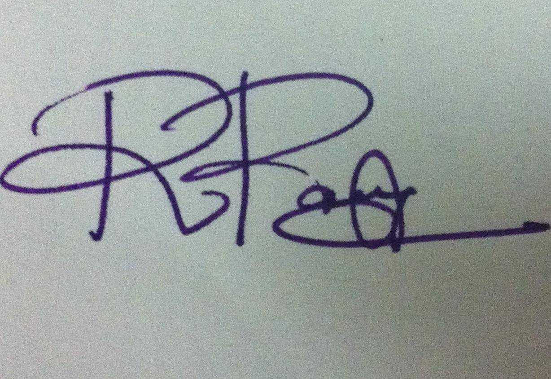 RAMYA RAMASWAMY's Signature
