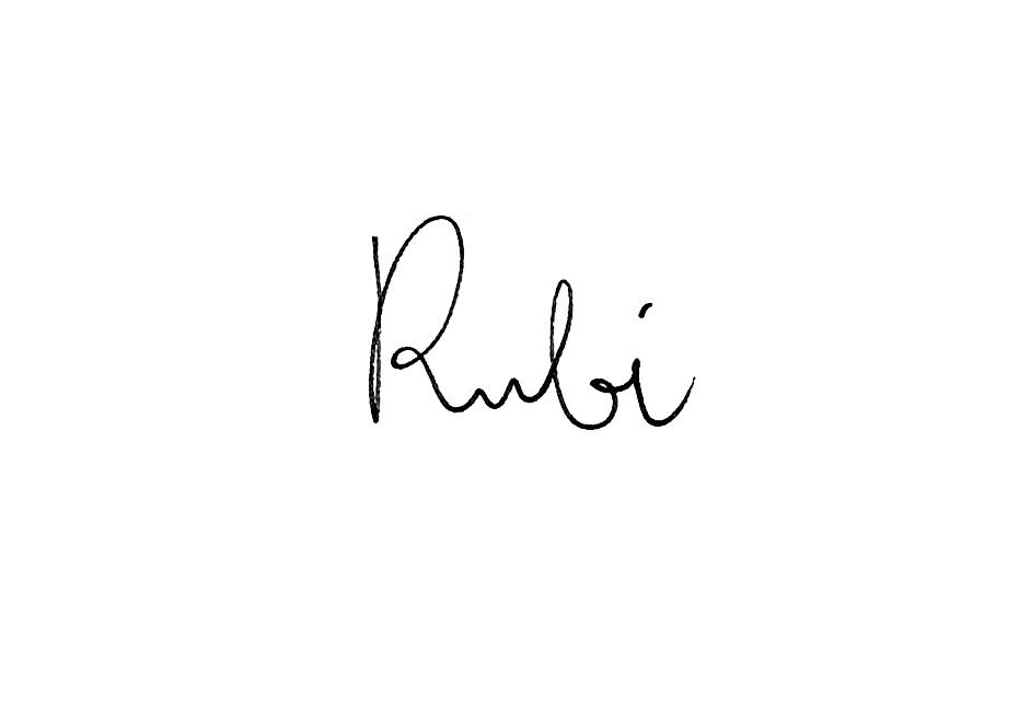 Luca Rubino's Signature