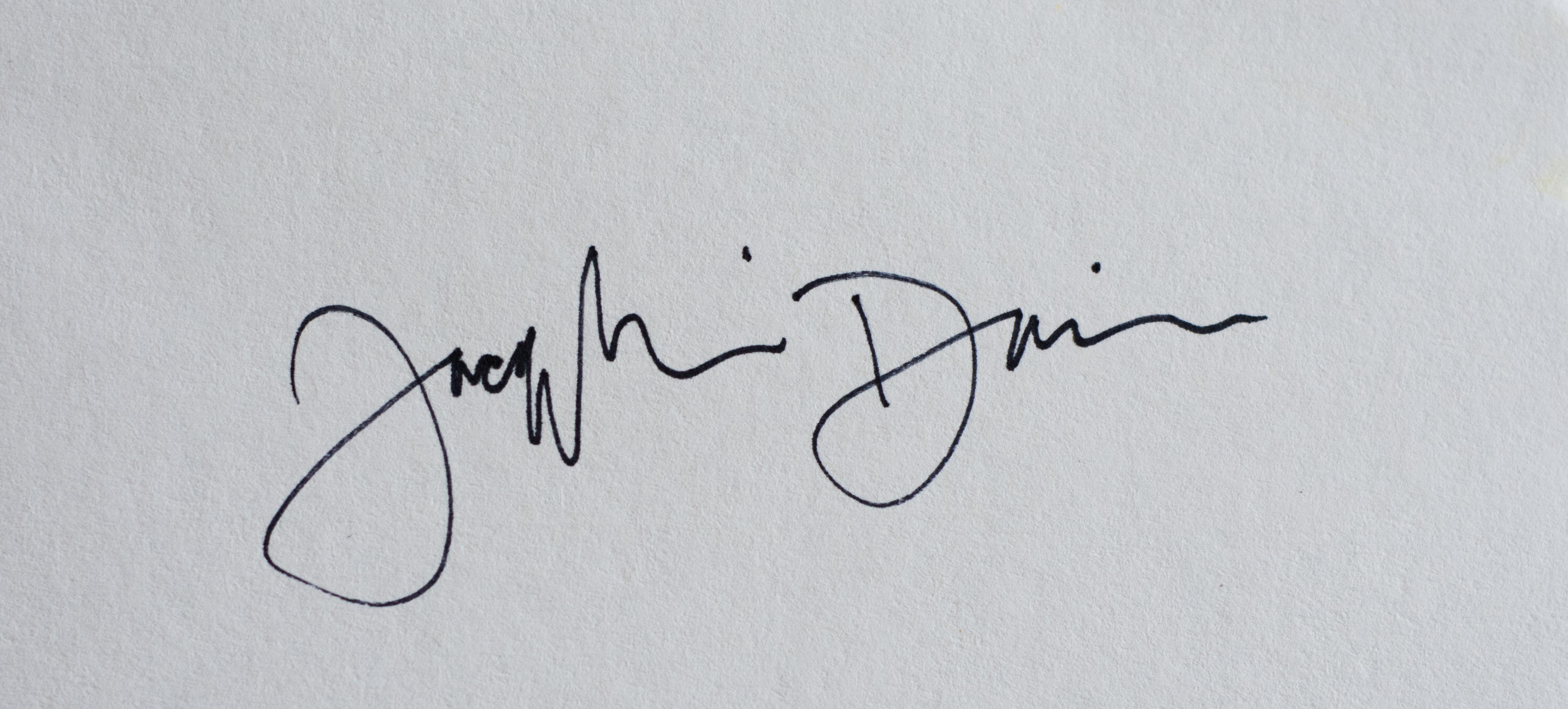 Jacqueline Davison's Signature