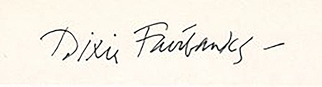 Dixie Fairbanks's Signature