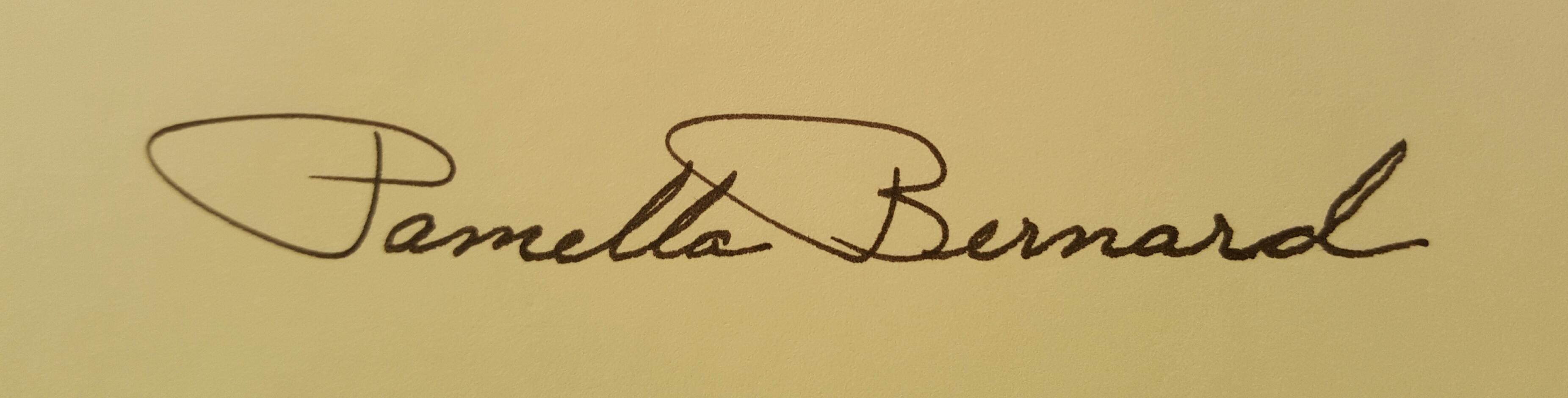 Pamella Bernard's Signature