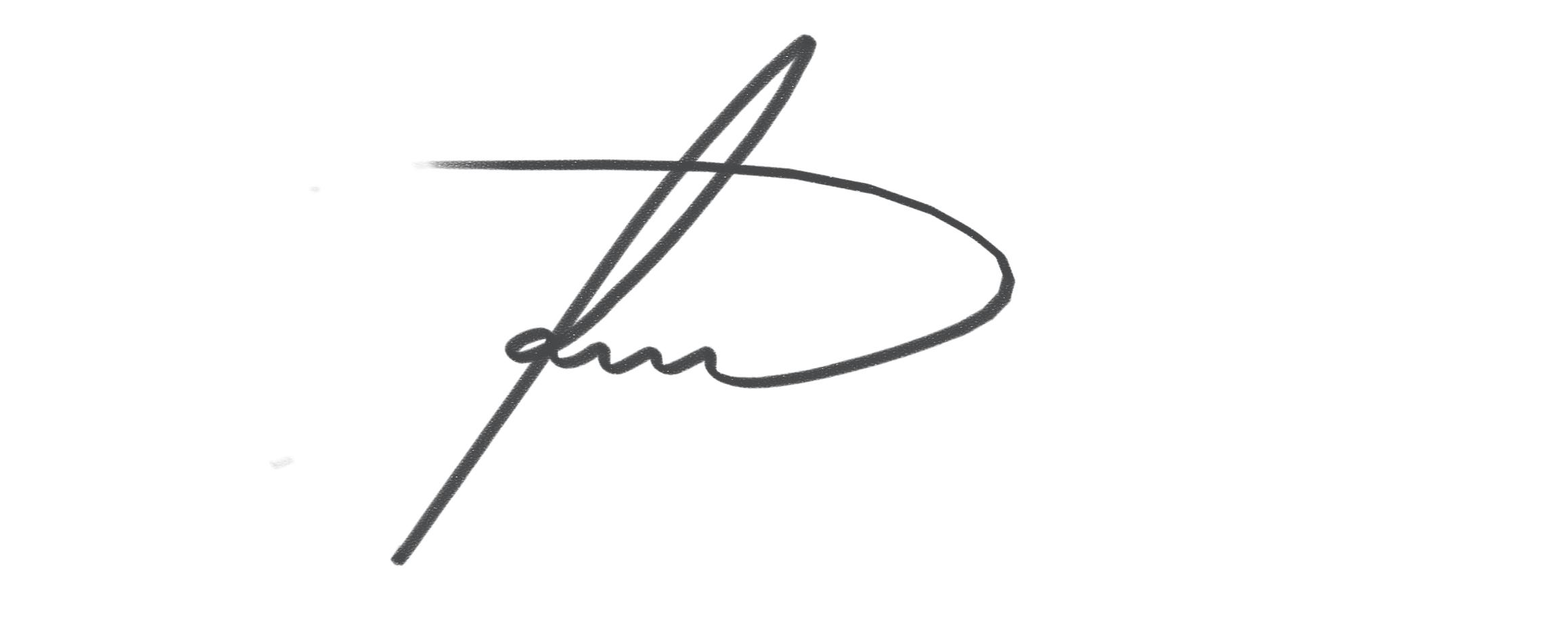 Naldo Alcantara's Signature