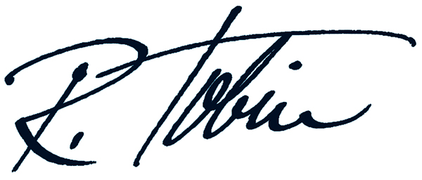 Ralph Tobin's Signature