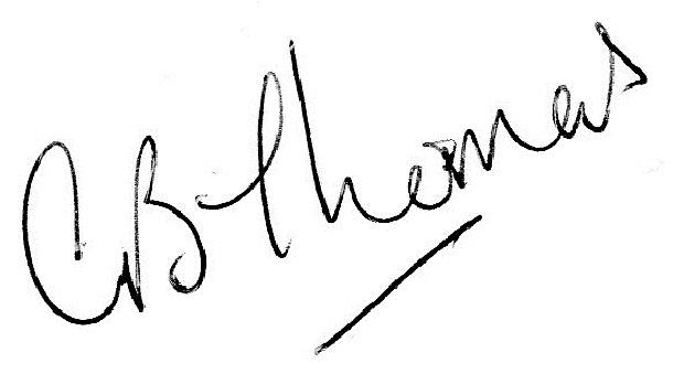 Gill Thomas's Signature