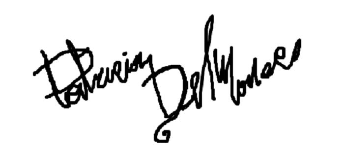 PaTRICIA del Monaco's Signature
