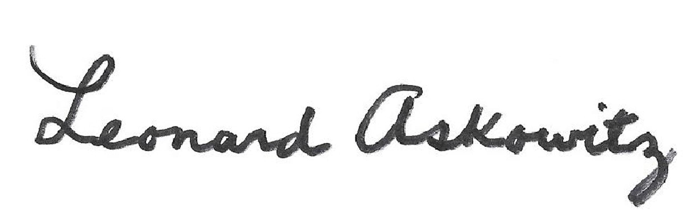 Leonard Askowitz's Signature