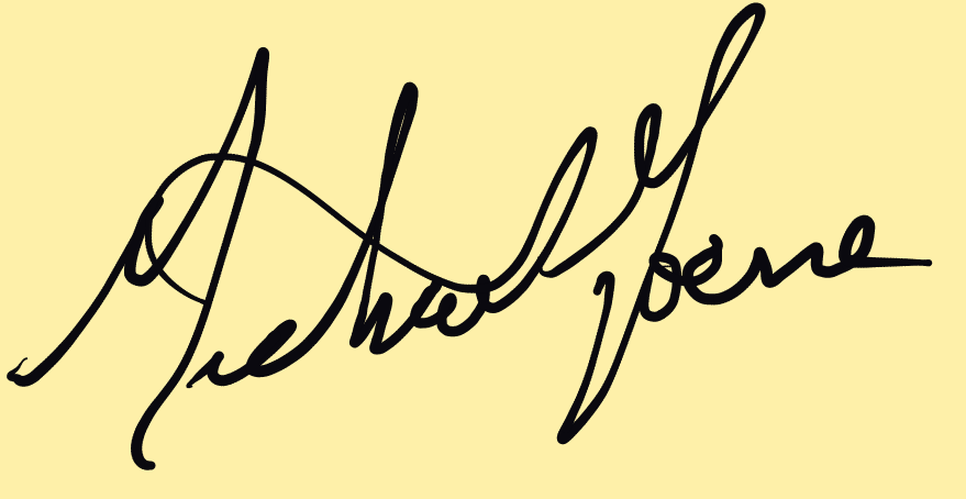 Mike Horne's Signature