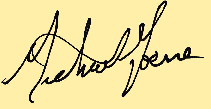Mike Horne's Signature