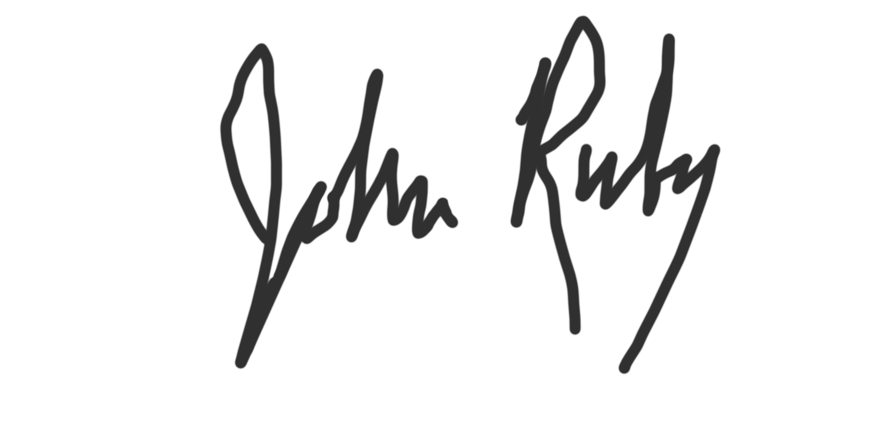 john ruby's Signature