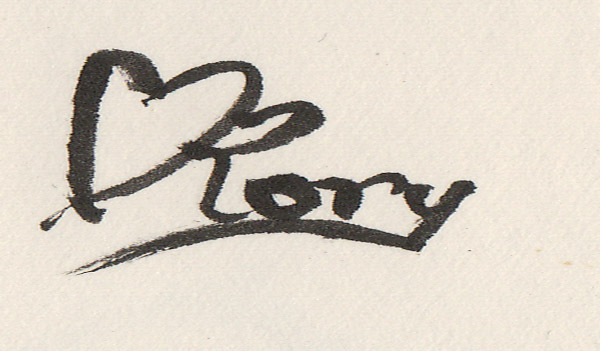 Rory Link's Signature