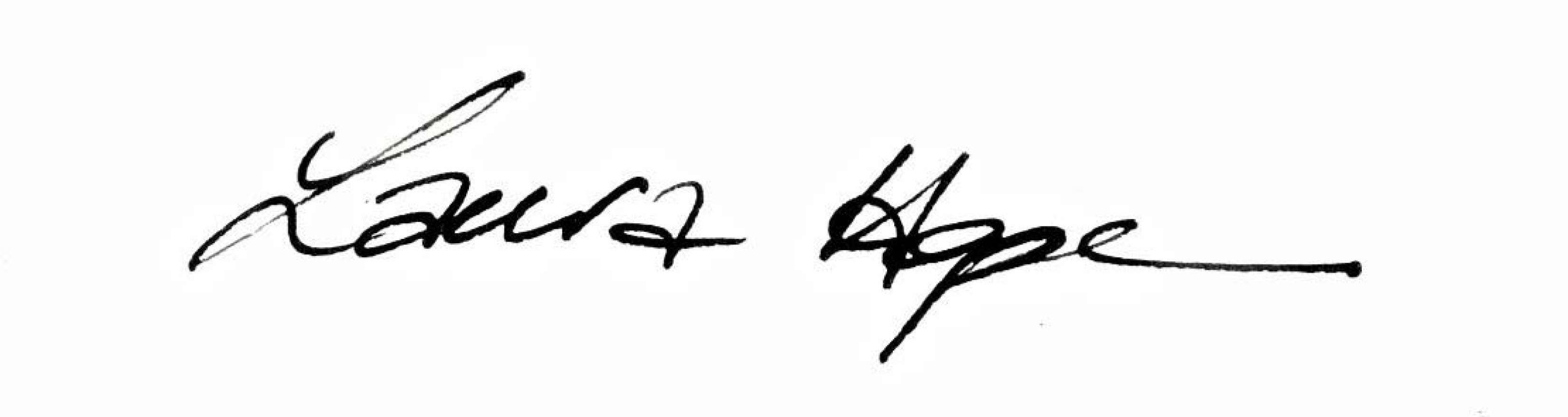 Laura Hope Selbie's Signature
