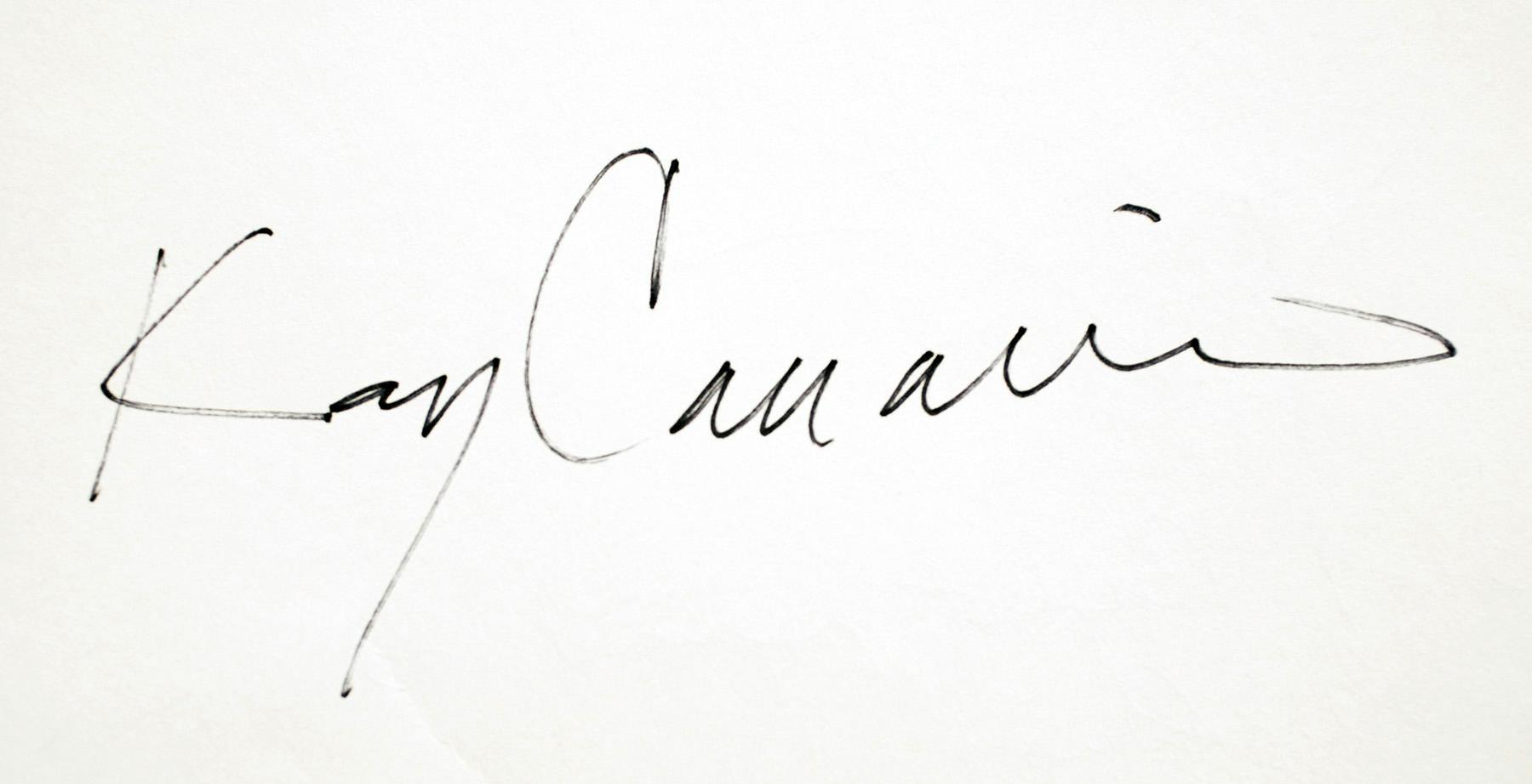 kay canavino's Signature