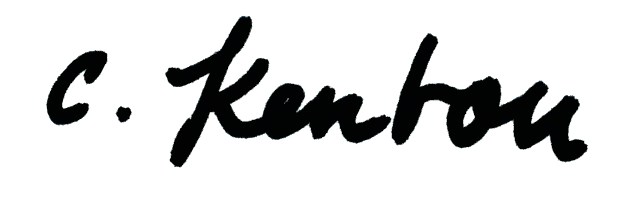 Christina Kenton's Signature