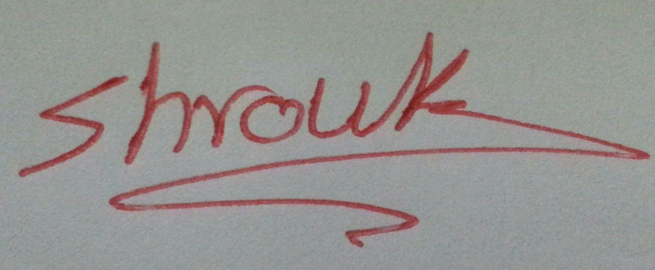 dr shrouk saad's Signature