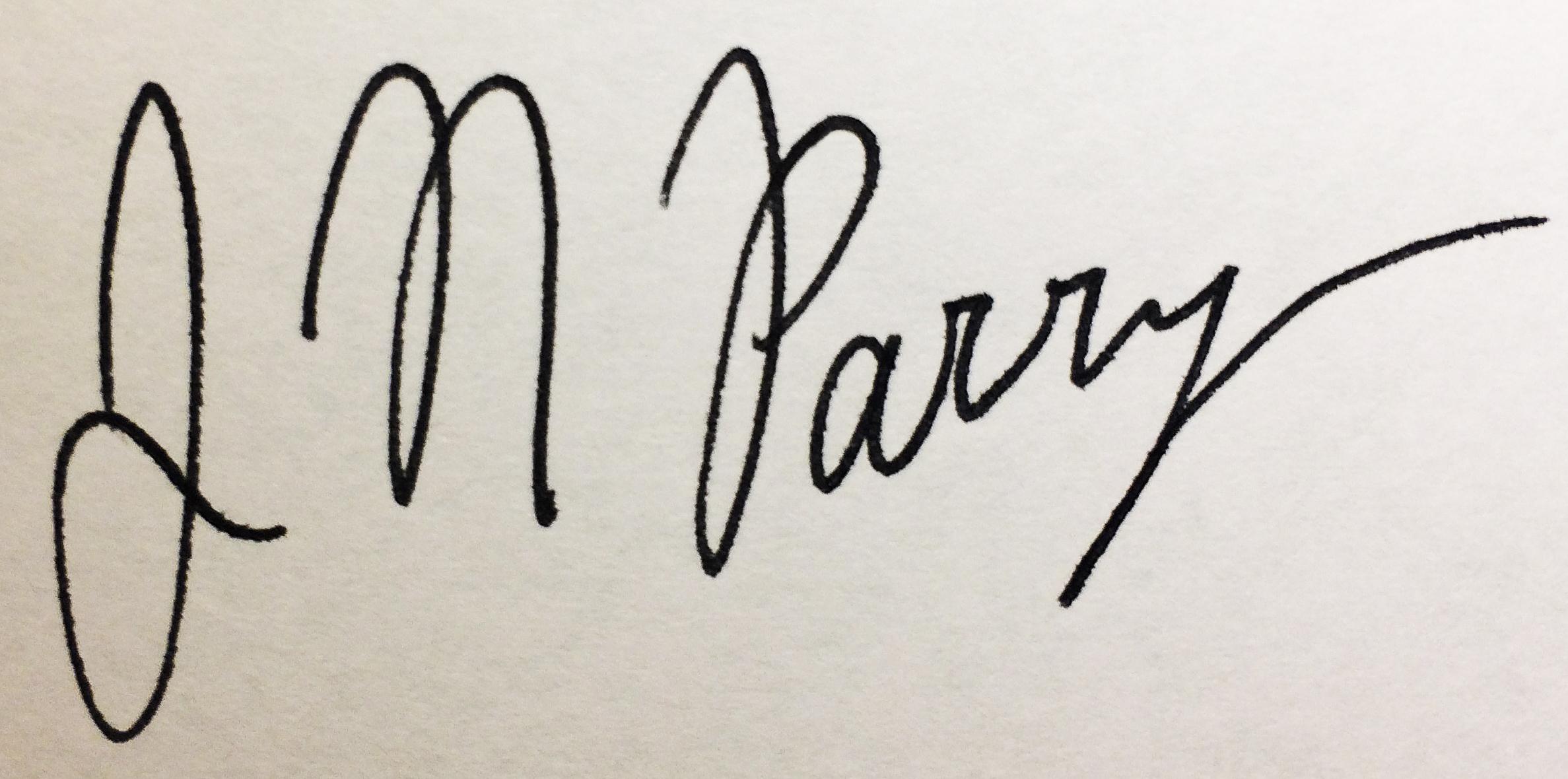 Jessica Parry's Signature