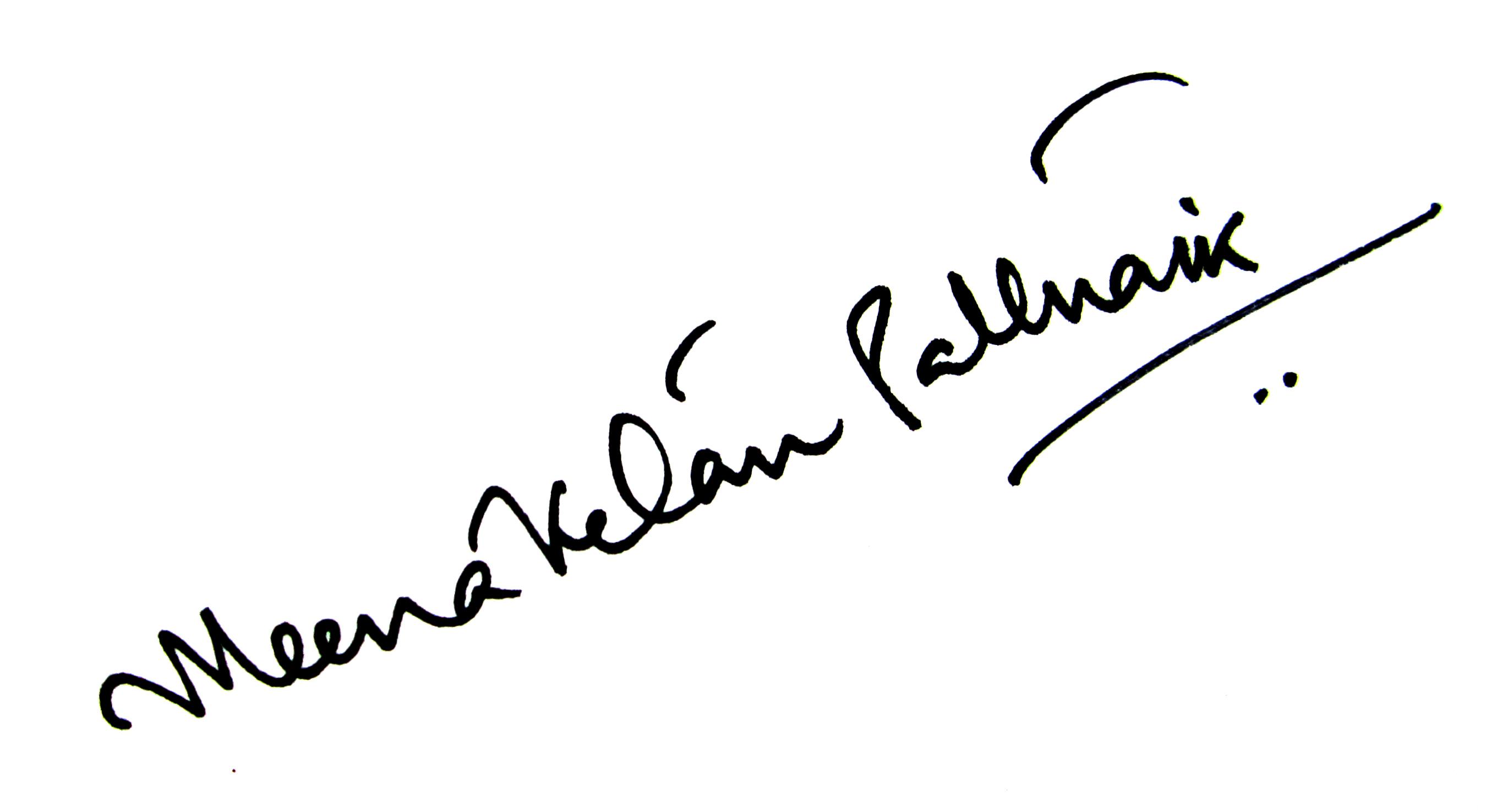 Meenaketan Pattnaik's Signature