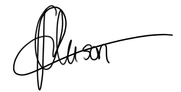 Alison Ross's Signature